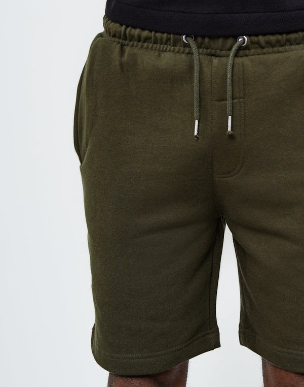 The Idle Man - Sweat Shorts Green