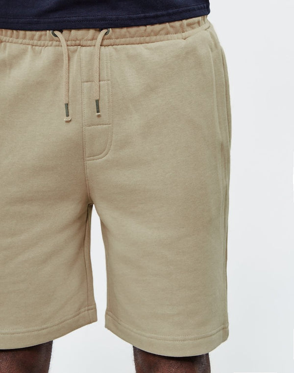 The Idle Man - Sweat Shorts Stone