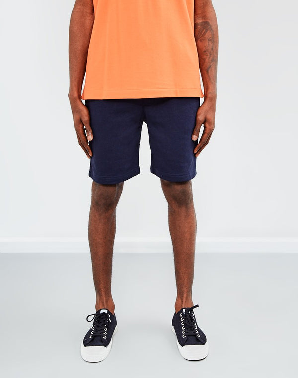 The Idle Man - Sweat Shorts Navy