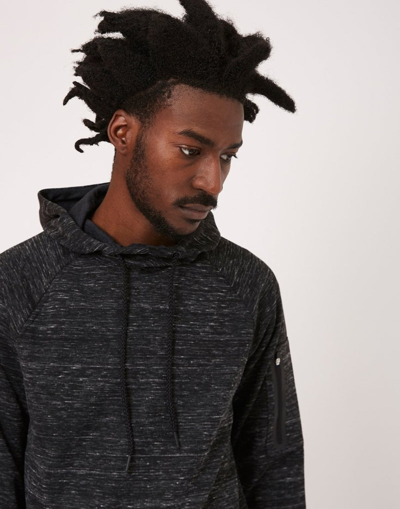 The Idle Man - Technical Overhead Hoodie Grey
