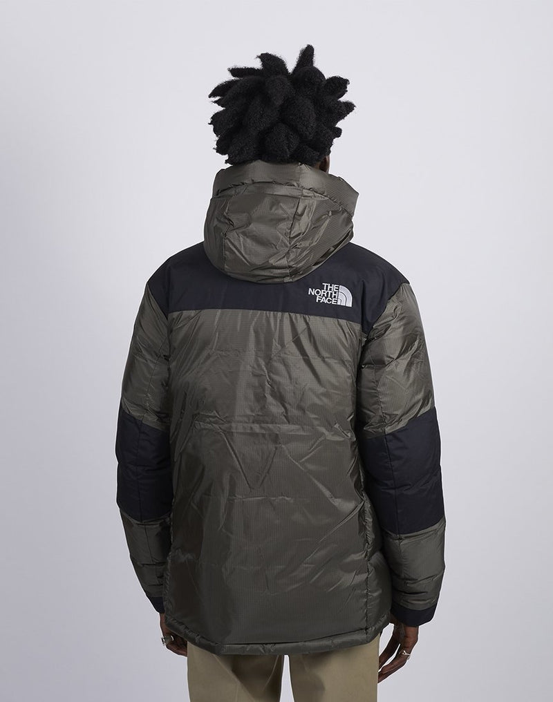 The North Face - Himalayan Windstopper Down Jacket Green & Black