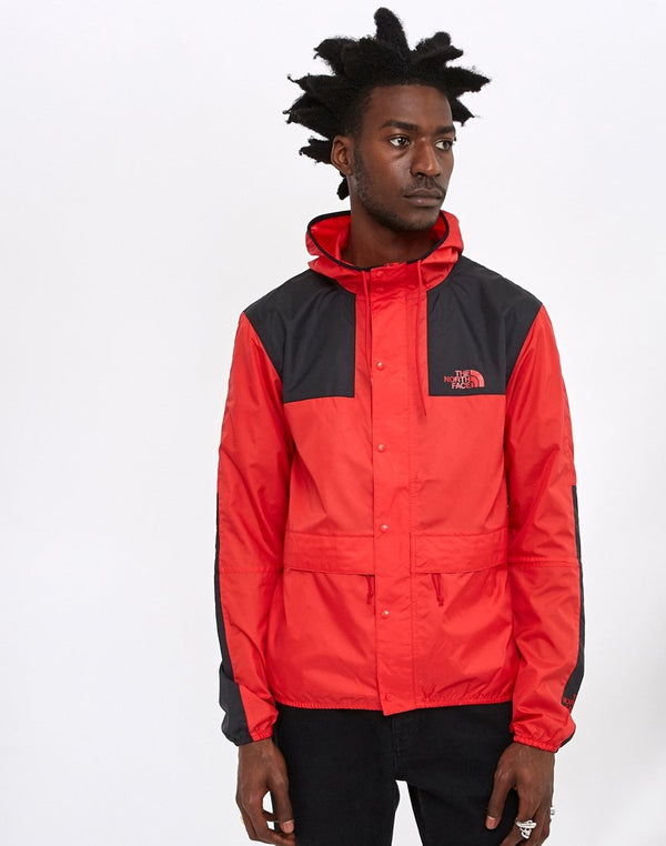 The North Face - Mountain Jacket 1985 Seasonal Celebration Red