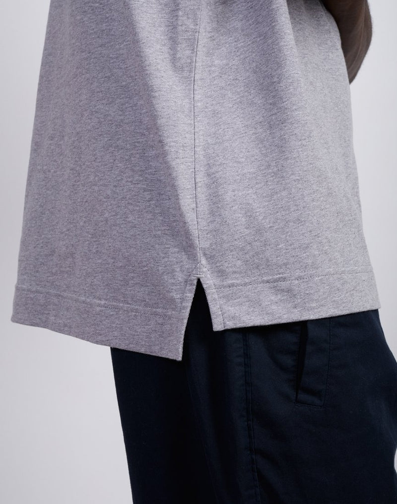 The Idle Man - Boxy Oversize Tee Grey
