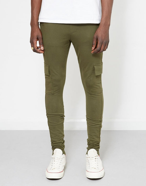 The Idle Man - Cargo Jogger Green