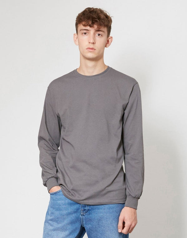 The Idle Man - Classic Long Sleeve T-Shirt Dark Grey