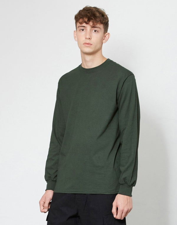 The Idle Man -Classic Long Sleeve T-Shirt Green