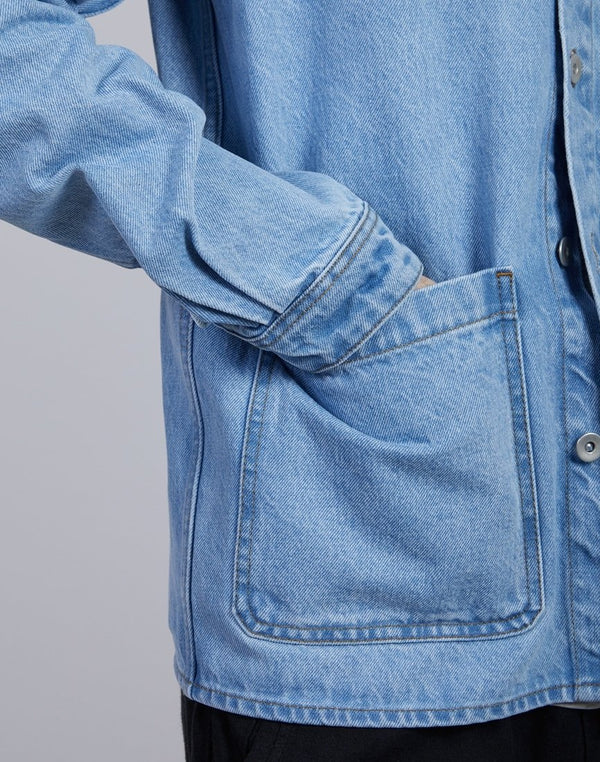The Idle Man - Denim Chore Jacket