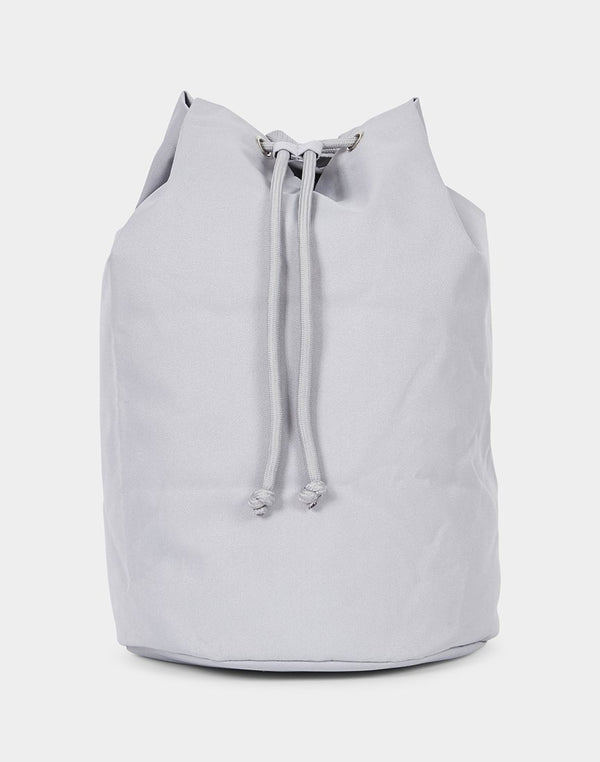 The Idle Man - Drawsting Backpack Grey