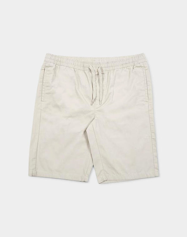 The Idle Man - Elasticated Shorts Stone