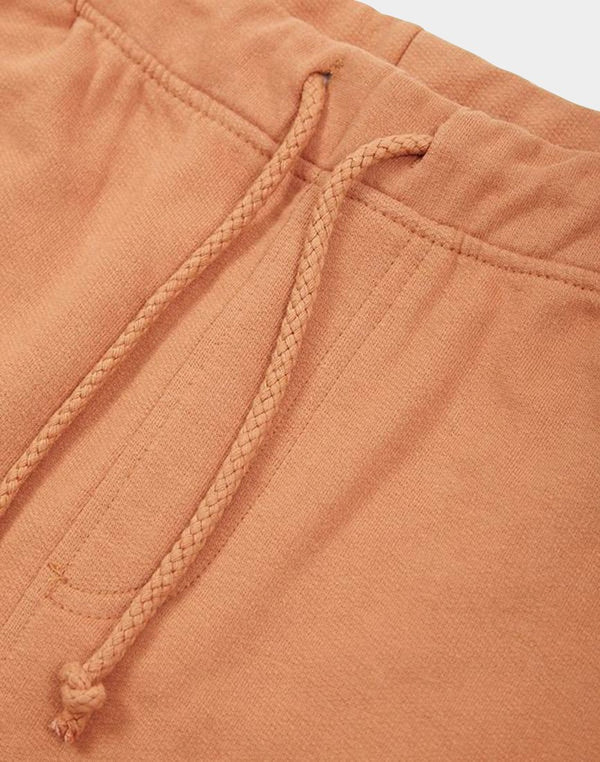 The Idle Man - Jersey Shorts Rust