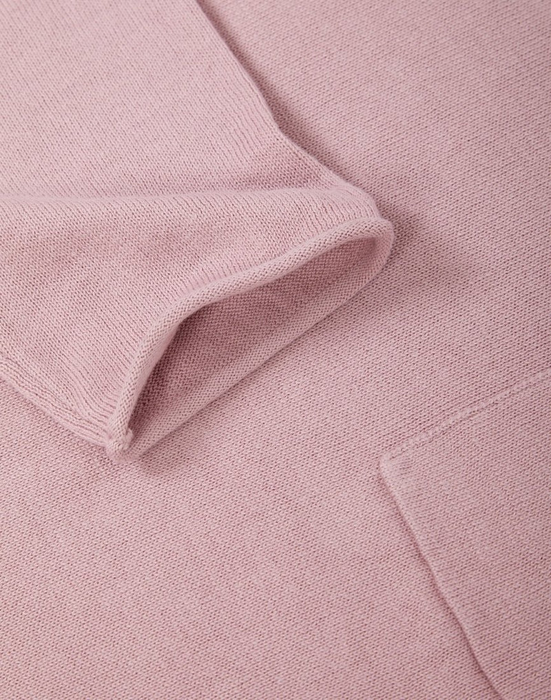 The Idle Man - Light Gauge Jumper Pink