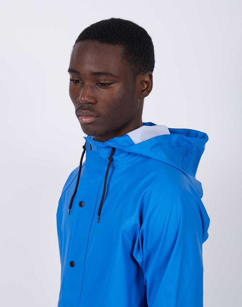 The Idle Man -  Lightweight Raincoat Blue