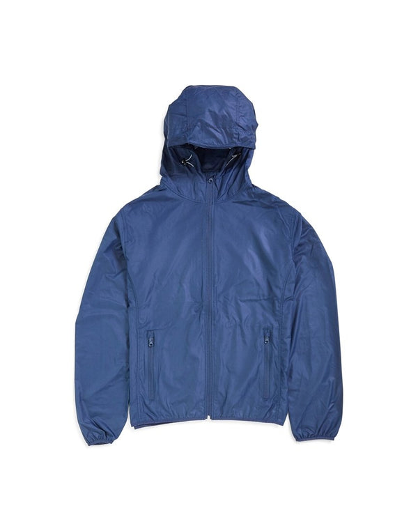The Idle Man - Lightweight Recycled Ripstop Jacket Navy