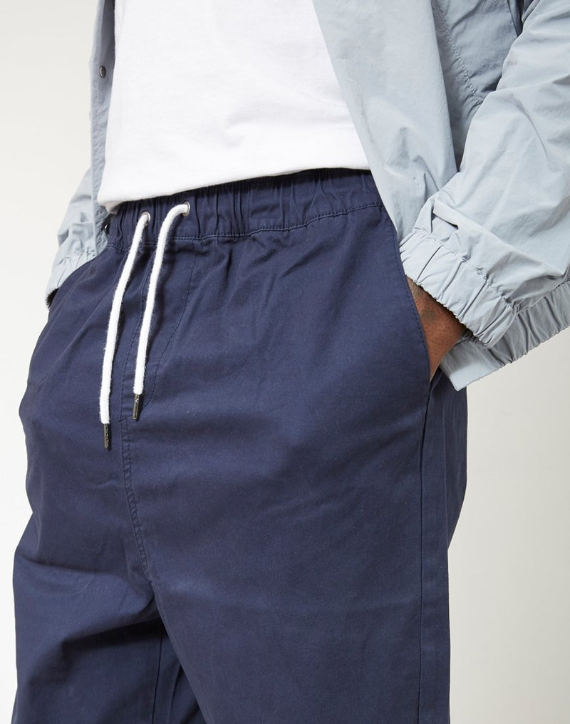 The Idle Man - Loose Fit Cropped Chino Navy