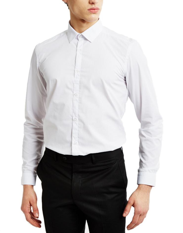 The Idle Man - SmarT-Shirt in White