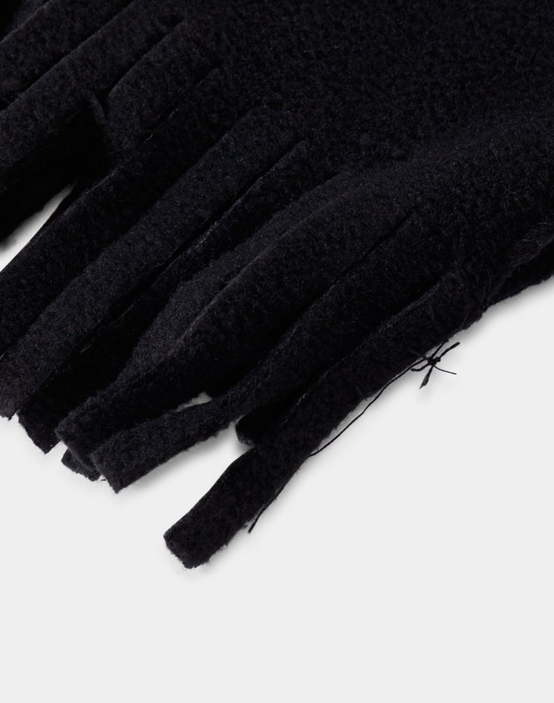 The Idle Man - Supafleece Dolomite Scarf Black