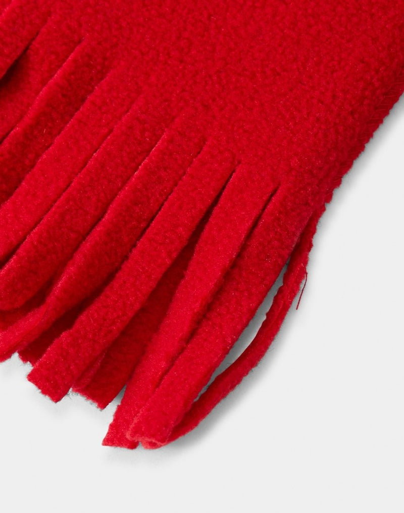 The Idle Man - Supafleece Dolomite Scarf Red