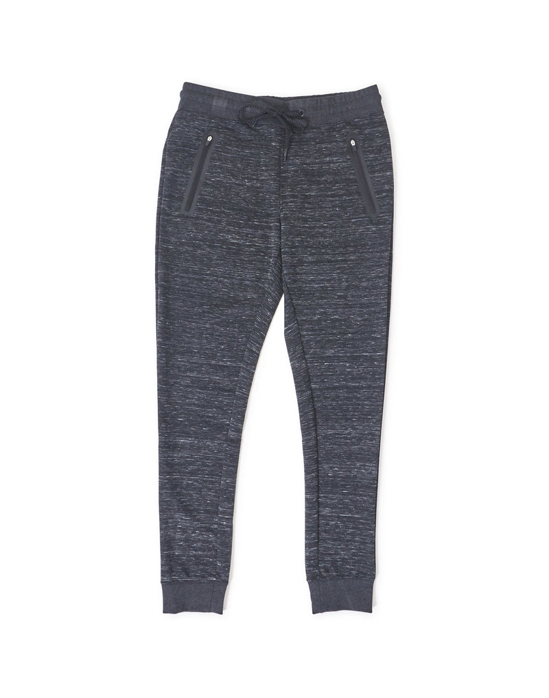The Idle Man - Technical Zip Joggers Grey