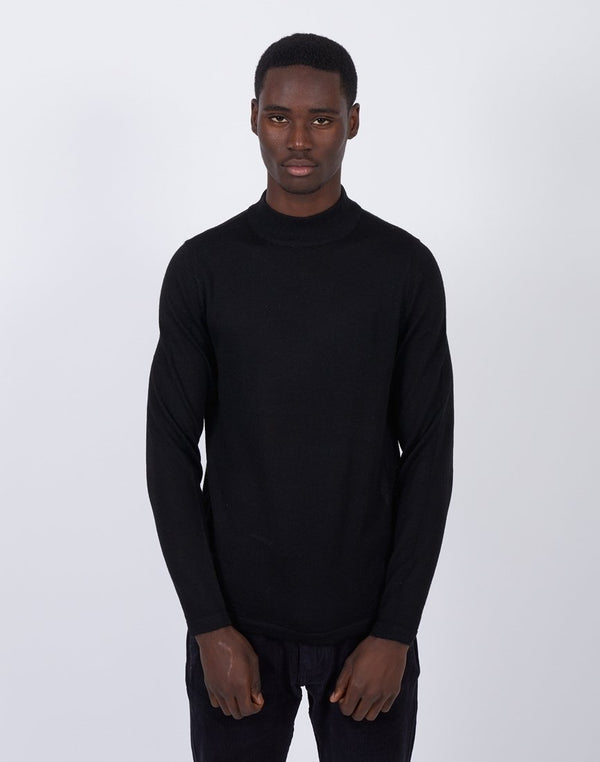 The Idle Man -Turtle Neck Black