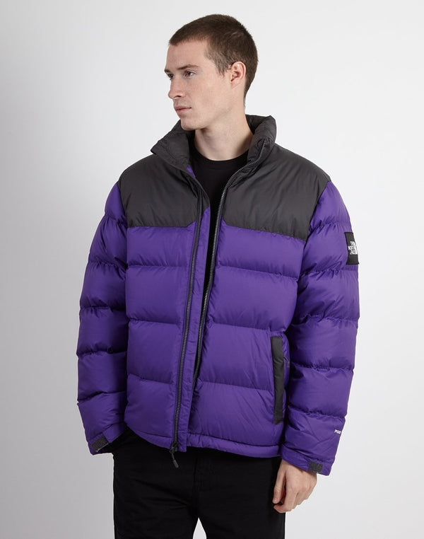 The North Face - Black Label 1992 Nuptse Jacket Purple & Grey
