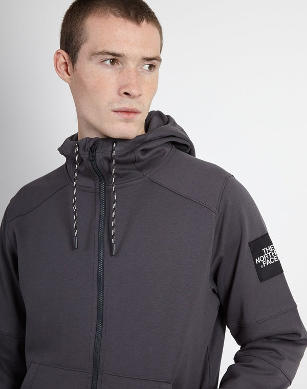 The North Face - Black Label Fine 2 Full Zip Hoodie Grey