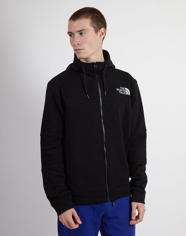 The North Face - Himalayan Fullzip Pullover Black