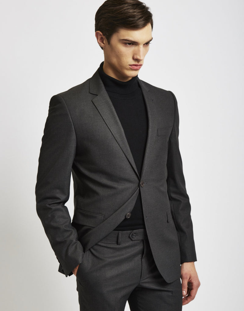 The Idle Man - Suit Jacket in Slim Fit - Grey