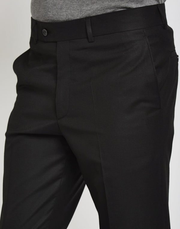 The Idle Man - Suit Trousers in Skinny Fit - Black