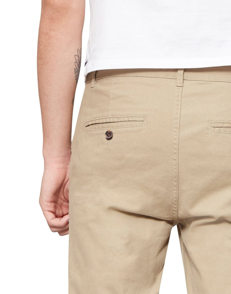 The Idle Man -Straight Leg Chino Stone
