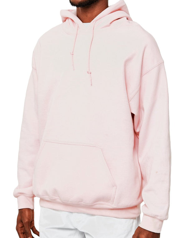 The Idle Man - Classic Overhead Hoodie Pink