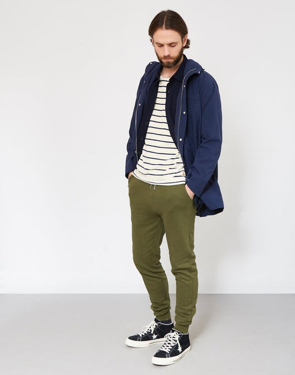 The Idle Man - Slim Fit Jogger Green