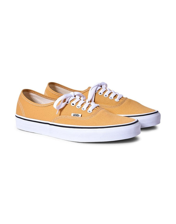 Vans - Authentic Canvas Plimsolls Yellow