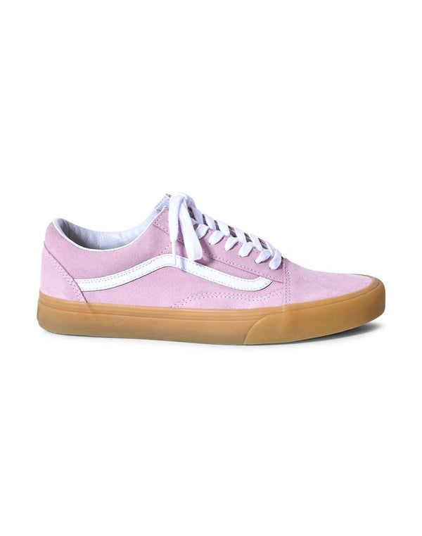 Vans - Old Skool Trainers Gum Sole Pink