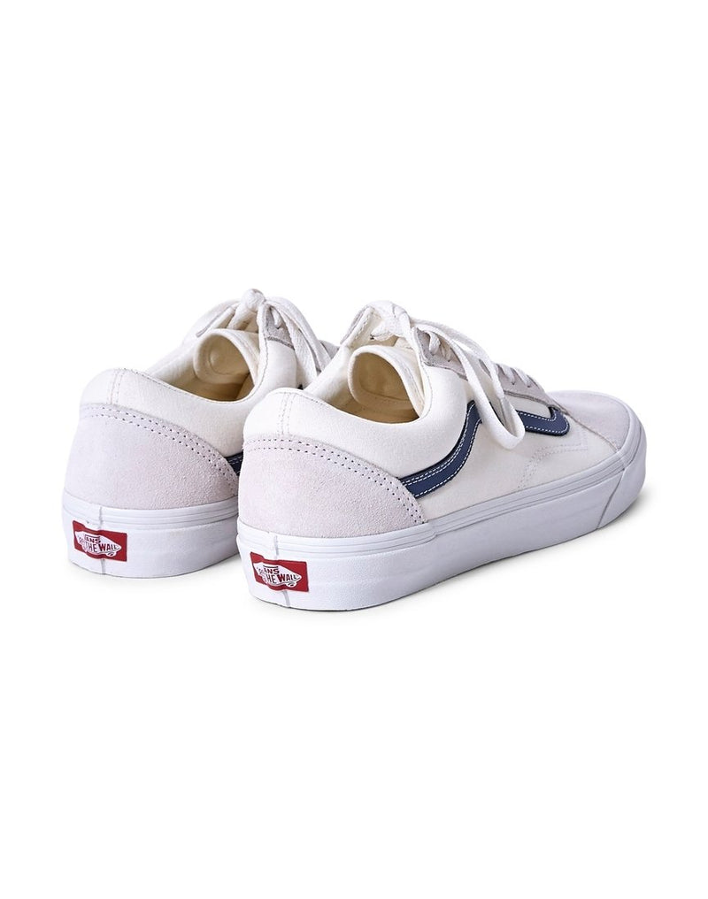 Vans - Old Skool Trainers White & Blue
