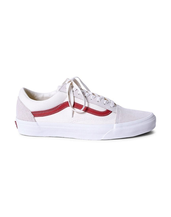 Vans - Old Skool Trainers White & Red