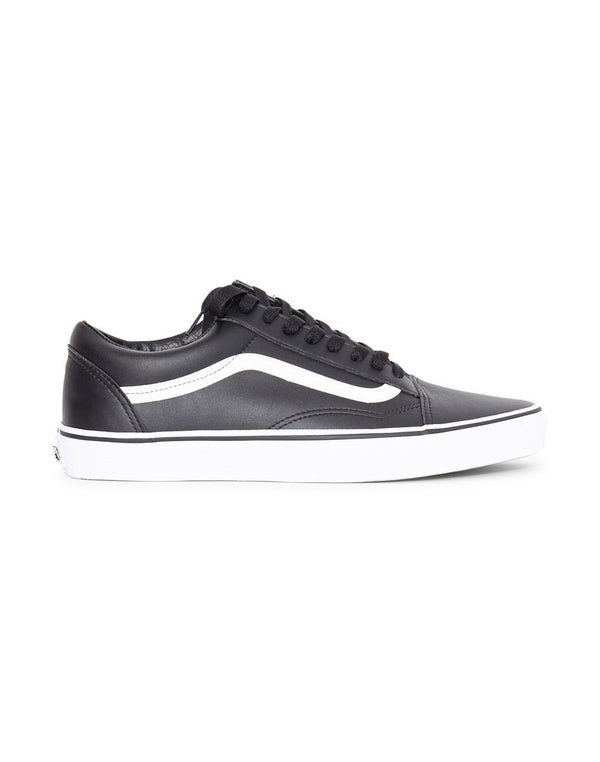 Vans - UA Old Skool Leather Plimsoll Black