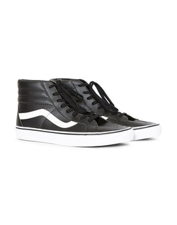 Vans - UA SK8-Hi Reissue Leather Plimsoll Black
