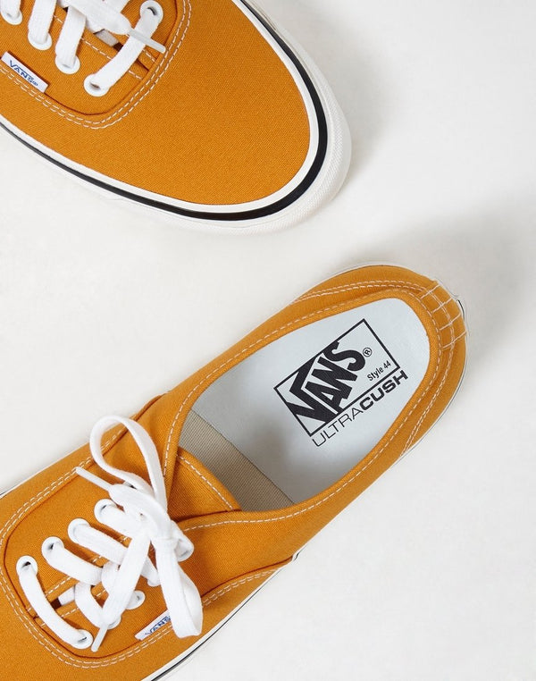 Vans - Authentic 44 DX Plimsolls Gold