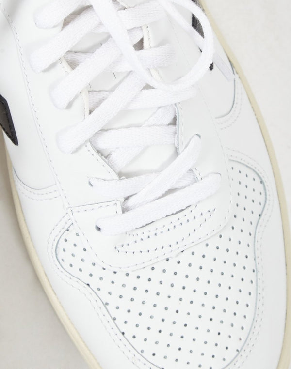 Veja - V10 Leather Trainer White & Black