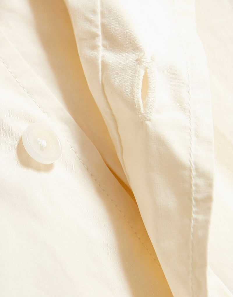 Wax London - Basset Shirt Off White