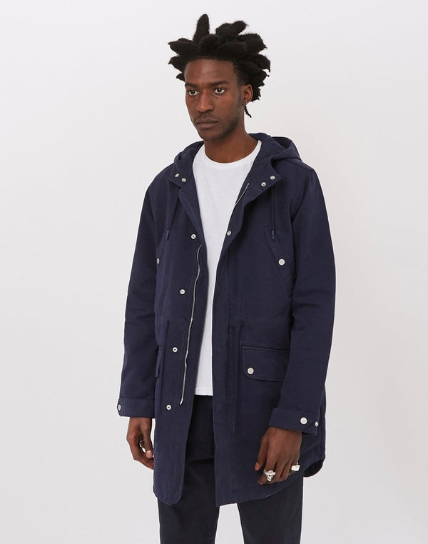 Wax London - Tipton Parka Navy