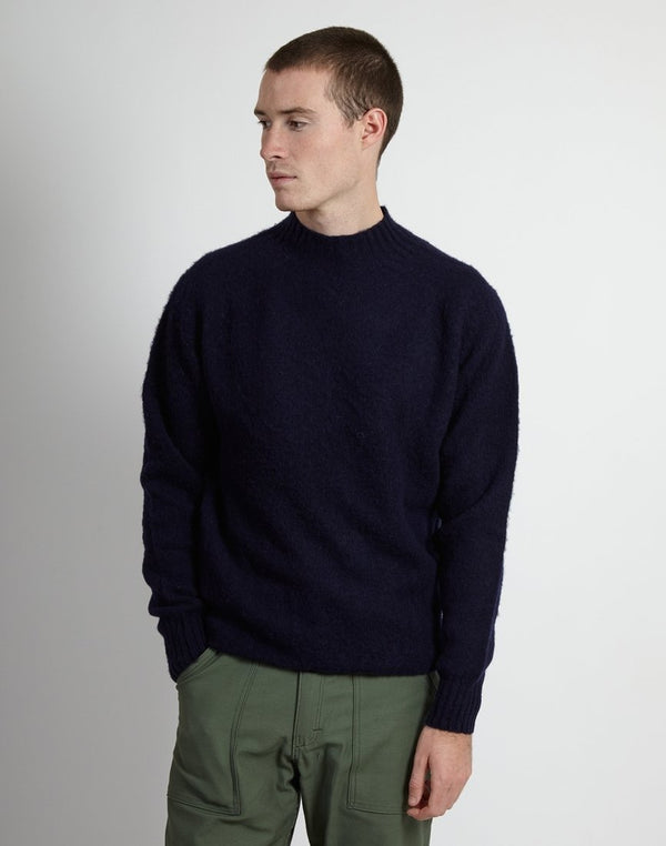 YMC - Montand Turtle Neck Navy