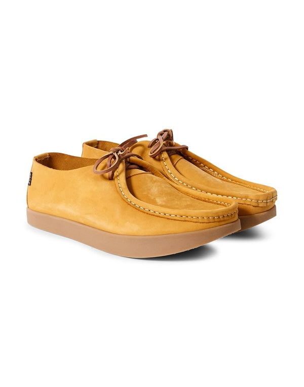 Yogi - Willard Nubuck Lace Up Negative Heel Tan