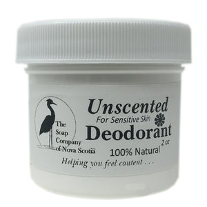 Unscented Deodorant for Sensitive Skin