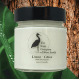 Candle ~ 'Lemon'  Essential Oil ~ 100% Natural Soy 40-hour ~ Non GMO, Vegan