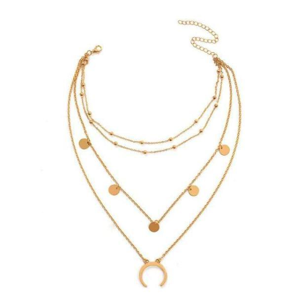 4ce8060872d4 Duo Moon Necklace - Creative Accessories