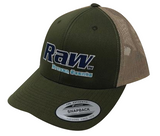 RAW Frozen Scents Hat Green Khaki