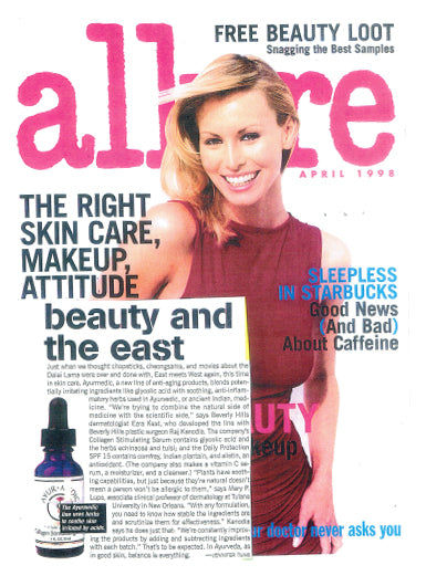 Allure magazine cover April 1998