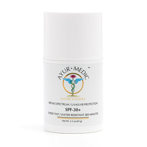 Ayur-Medic SPF 30+ Sheer-Tinted Sunscreen