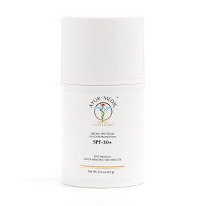 Ayur-Medic SPF 30+ Tinted Sunscreen - Medium